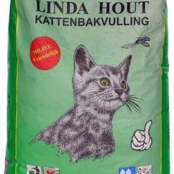 Linda hout 25 L kattenbakvulling