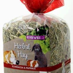 Herbal hay echinacea paprika