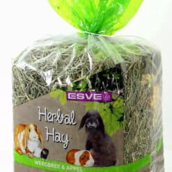 herbal hay weegbree appel