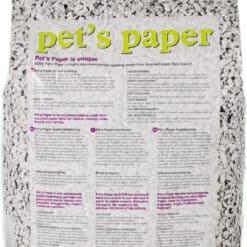 pet's paper achterkant