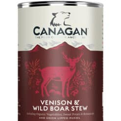 canagan venison and wild boar stew blik